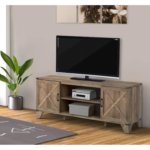 Oxford Rustic Oak TV Stand
