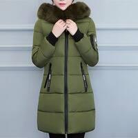 Womens Winter Jacket Warm Overcoat Slim Thicker Long Coat Parka Lammy Outwear
