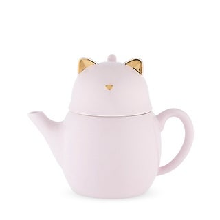 Purrrcy Cat Tea for One Set by Pinky Up®
