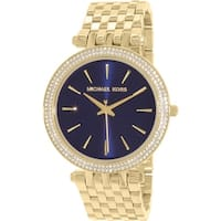 Michael Kors Women's Darci MK3406 Gold Stainless-Steel Quartz Fashion Watch