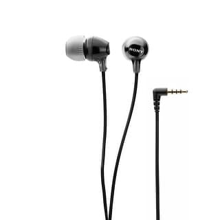Sony Fashion Color EX Series Earbuds (Black)