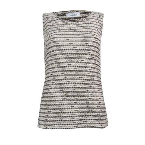 Calvin Klein Women's Crotchet Shell Sweater