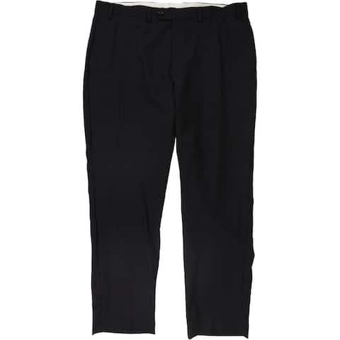 Ralph Lauren Mens Ultraflex Dress Pants Slacks, Purple, 40W x 32L - 40W x 32L