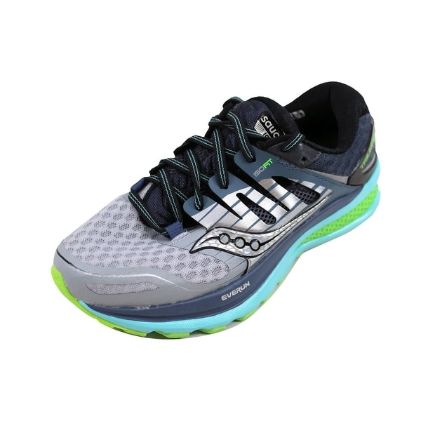 Shop Saucony Women s Triumph Iso 2 Grey Blue-Slime S10291-1 - On ... b1ed83e2ab