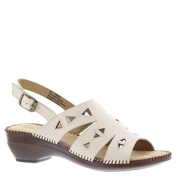 Auditions Womens Megan Open Toe Casual Slingback Sandals