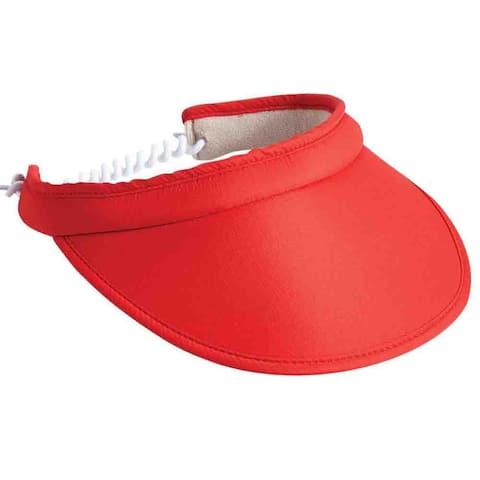 Page & Tuttle Womens Coil Back Eyeshade Visor Golf Athletic Hats Visor