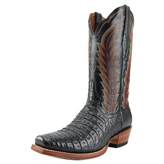 Ariat Turnback Caiman 2E Square Toe Leather Western Boot