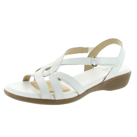 Naturalizer Womens Neo Strappy Sandals Leather Singback