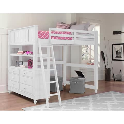 Hillsdale Kids and Teen Lake House Full Loft Bunk Bed