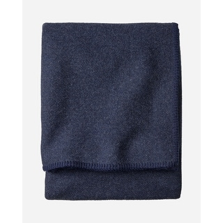 Link to Pendleton Eco-Wise Navy Heather Blanket Queen Similar Items in Blankets & Throws
