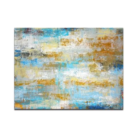 Ready2HangArt 'Ocean Treasure' Wrapped Canvas Wall Art