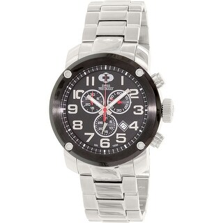 Swiss Precimax Men's Marauder Pro SP13012 Silver Stainless-Steel Sport Watch