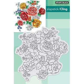 Floral Medley - Penny Black Cling Stamps
