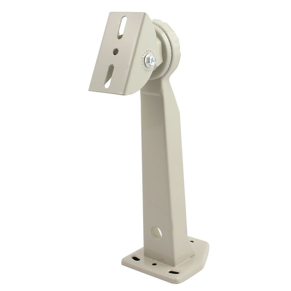 Wall Mount CCTV Security Camera Housing Iorn Mounting Bracket Gray 300mm Height