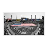 Chicago White Sox - U.S. Cellular Field Touch of Color Baseball Ballparks Matte Poster 24x14