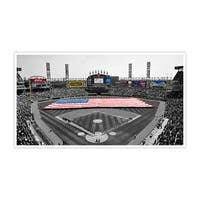 Chicago White Sox - U.S. Cellular Field Touch of Color Baseball Ballparks Matte Poster 36x20