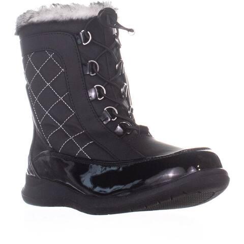 Sporto Jenny Mid Calf Winter Boots, Black