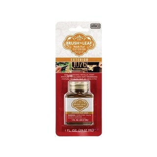 American art clay 76641a brush n leaf exterior old gold 1oz