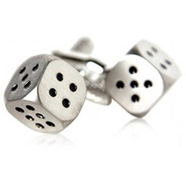 Dice Games Las Vegas Casino Gamble Cufflinks