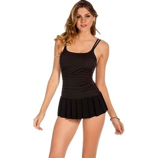 Miraclesuit Black Skater Swimdress (4 options available)