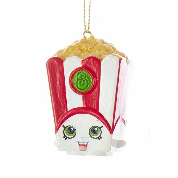 Shopkins Blow Mold Christmas Ornament Poppy Popcorn