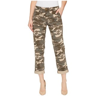 Jag Jeans NEW Olive Green Womens Size 10 Camo Stretch Cropped Pants