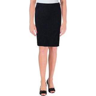Lauren Ralph Lauren Womens Denim Skirt Jean Pencil