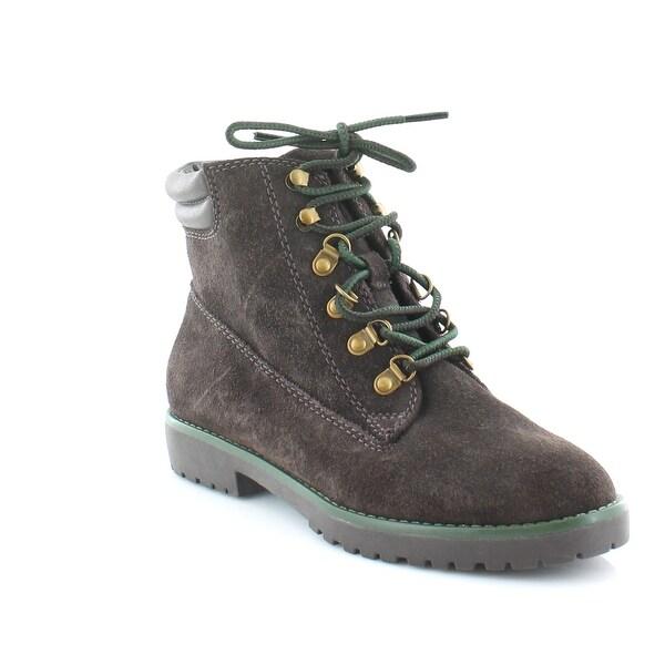 Ralph Lauren Mikelle Women's Boots DK Chocolate