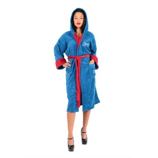 DC Comics Supergirl Bombshell Ladies Fleece Robe (One Size)