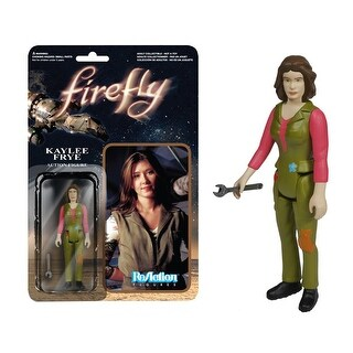 "Firefly Funko ReAction: 3 3/4"" Kaylee Frye Action Figure - multi"