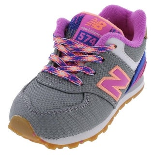 New Balance Girls Athletic Shoes Low Top Embroidered - 6 medium (b,m) toddler