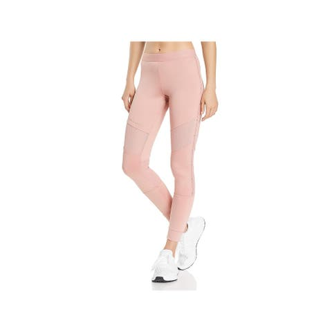 Adidas Stella McCartney Womens Athletic Tights Quick Dry Yoga - Band Aid Pink - M
