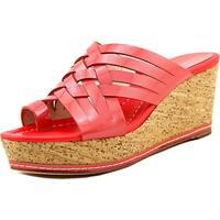 Donald J Pliner Womens Flore Open Toe Casual Platform Sandals