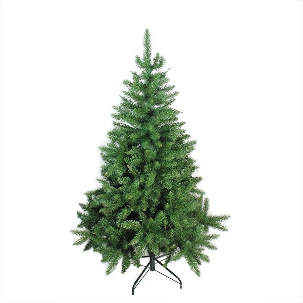 5' Buffalo Fir Medium Artificial Christmas Tree - Unlit - green