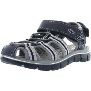 Primigi Boys Davy Adjustable Closure With Bunjee Closed Toe Sport Sandals