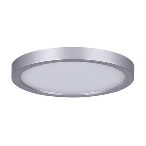 "Canarm LED-SM55DL-C Light 5-1/2"" Wide Integrated LED Outdoor Flush Mount Ceiling Fixture"
