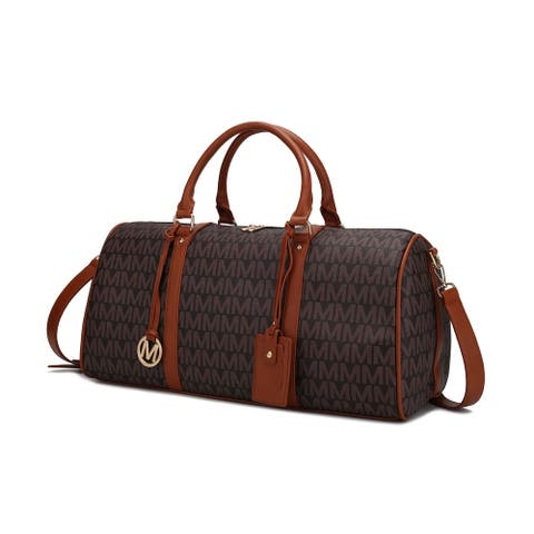 MKF Collection Victoria Weekender by Mia k.