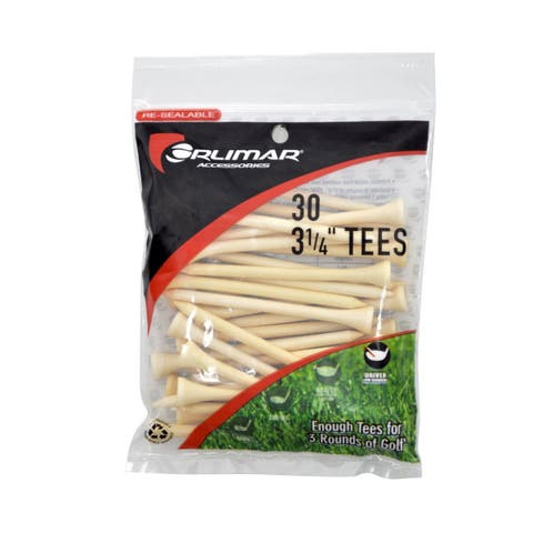 Orlimar 3 1/4-Inch Golf Tees 30-Pack (Natural)