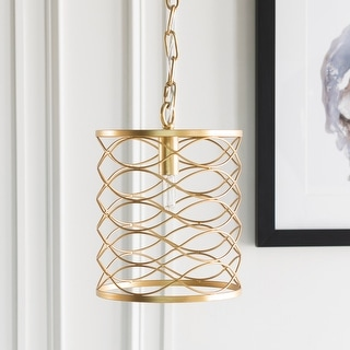 Link to Francene Updated Traditional Gold Pendant Lighting Fixture Similar Items in Chandeliers