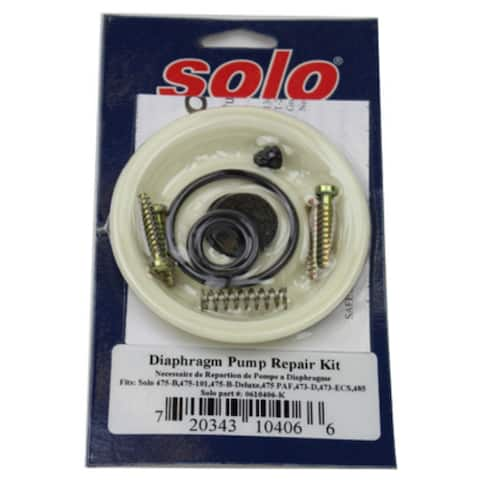 SoloA 0610406-K Diaphragm Pump Repair Kit for Garden Sprayer