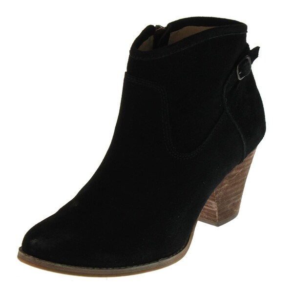 Splendid Womens Rebekah Ankle Boots Suede Bootie - 8 medium (b,m)