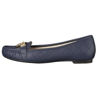 MICHAEL Michael Kors Womens Hamilton Moc Leather Closed Toe Loafers