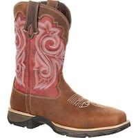 Lady Rebel by Durango Women's Waterproof Composite Toe Western Work Boot