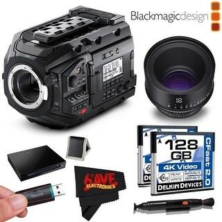 Blackmagic Design URSA Mini Pro 4.6K Digital Cinema Camera #CINEURSAMUPRO46K + Rokinon Xeen 85mm T1.5 Lens Bundle