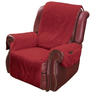 Recliner Chair Cover Protector with Pockets for Remotes and Cellphones  sc 1 st  Overstock.com & Recliner Covers u0026 Wing Chair Slipcovers - Shop The Best Deals for ... islam-shia.org