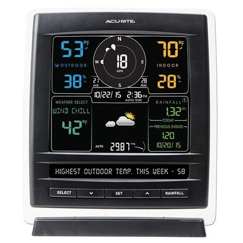 """AcuRite Pro 5-in-1 Color Weather Station 5-in-1 Weather Station"""