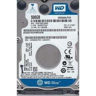 """Western Digital Hard Drive 500 16 MB 2.5"""" Internal WD5000LPCX"""