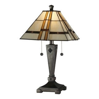 Dale Tiffany TT11051 Atherton Table Lamp with 2 Lights