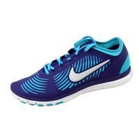 Nike Women's Free Balanza Court Purple/Metallic Silver-Gamma Blue599268-500
