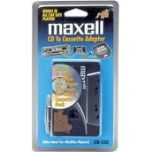 Maxell T37865B Maxell CD-330 CD-to-Cassette Audio Adapter (190038)
